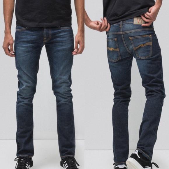 f2be821ea6c195 Nudie Jeans Lean Dean Dry 16 Dips Denim. M_5b776354cdc7f7a9c4cc53bf